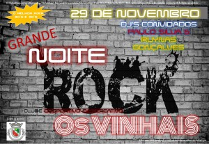 CARTAZ NOITE DO ROCK