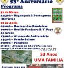 Programa de comemorações 53º Aniversário